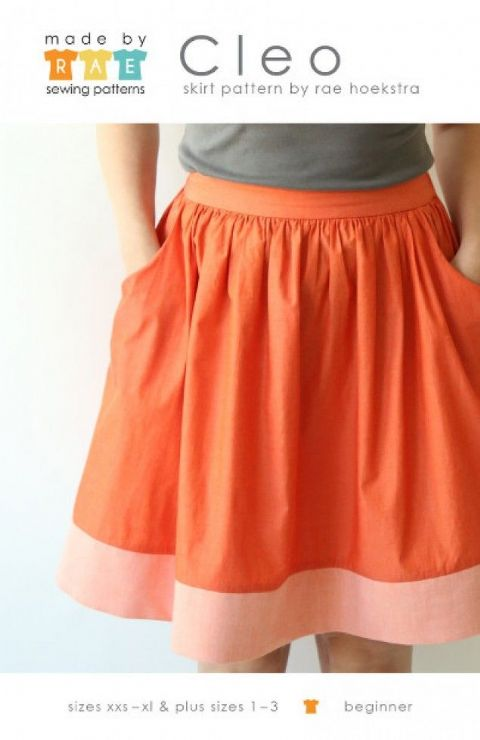 Made by RAE - Cleo Skirt Pattern